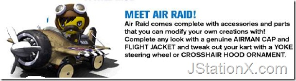 Modnation Racers - Air Raid Mod