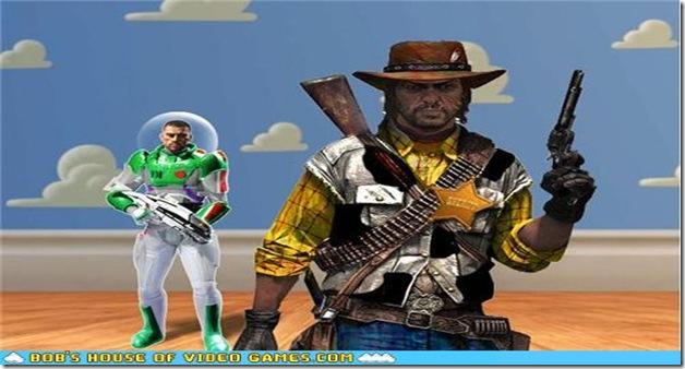 Toy Story 3 - Mass Effect - RDR