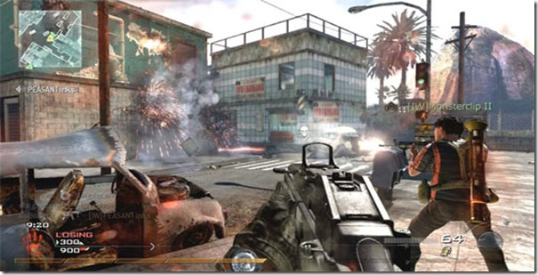 Modern Warfare 2 Multiplayer Screenshot