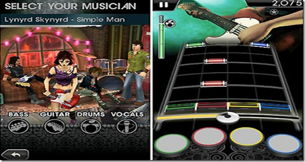 Rock Band Screenshot 1