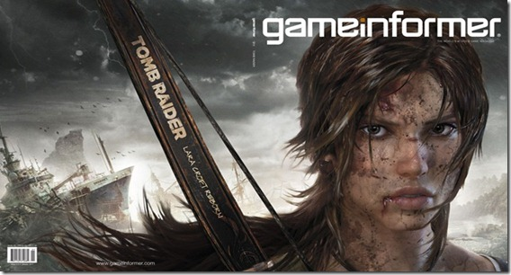 Lara Croft Game Informer