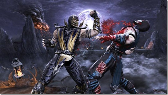 Mortal Kombat 9 Screenshot