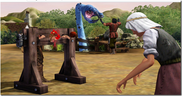 Sims 3 Medieval Screenshot 1