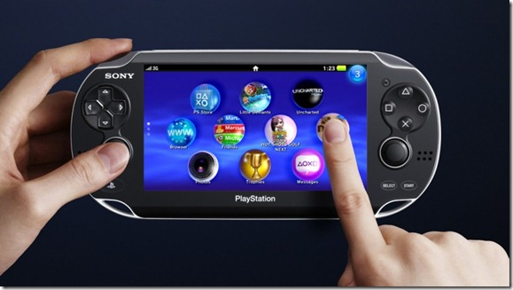 PS Vita Touchscreen Pic