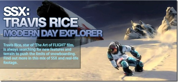 Travis Rice SSX Screenshot