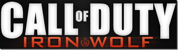 Call of Duty 9 Iron Wolf Logo