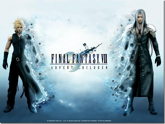 Final Fantasy VII Advent Children Wallpaper