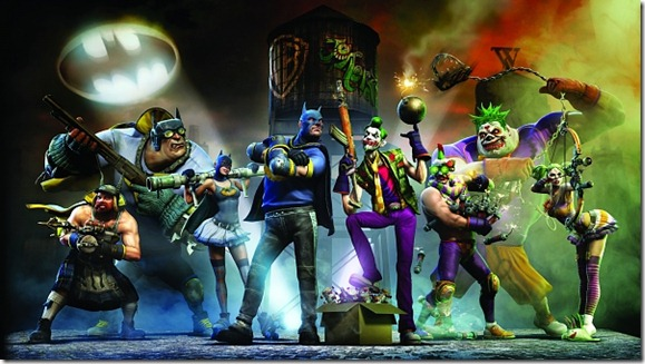 Gotham City Impostors Cast Screenshot