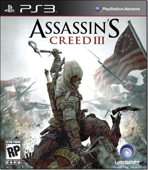 Assassin's Creed 3 PS3 Box Art