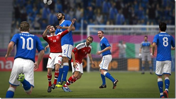 Italy vs Denmark - UEFA EURO 2012 Screenshot