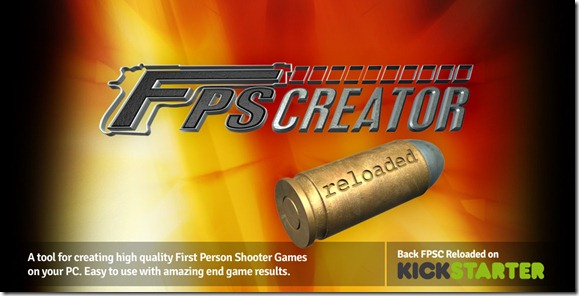 FPS Creator Reloaded logo