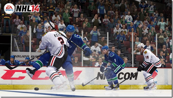 NHL 14 screenshot 2