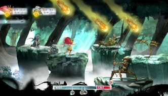 Child of Light screenshot combat