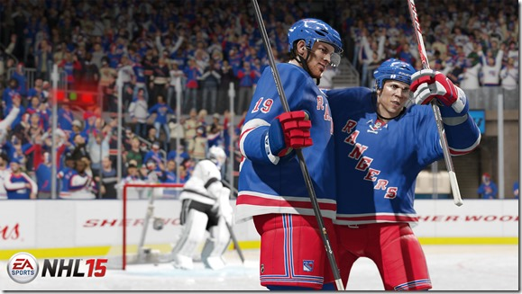 NHL 15 screenshot