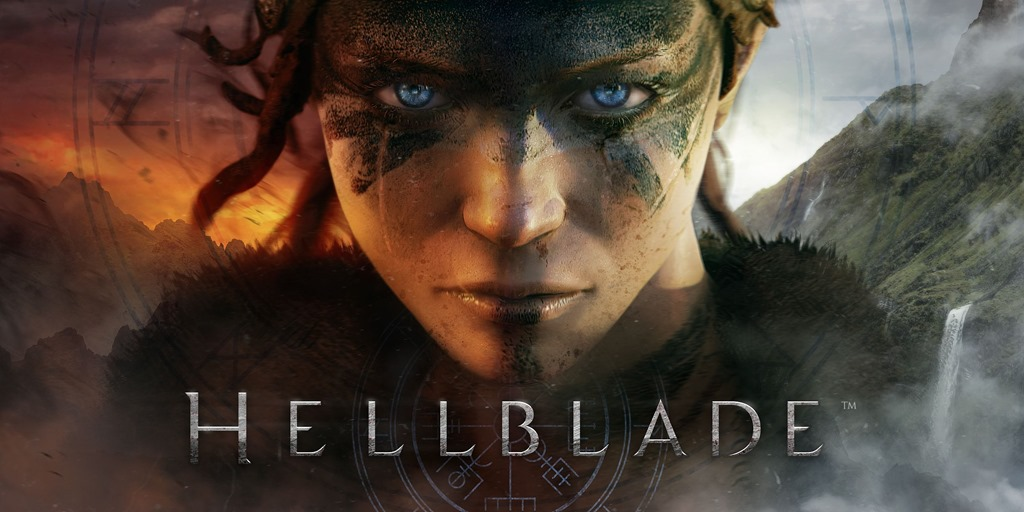 Hellblade wallpaper logo