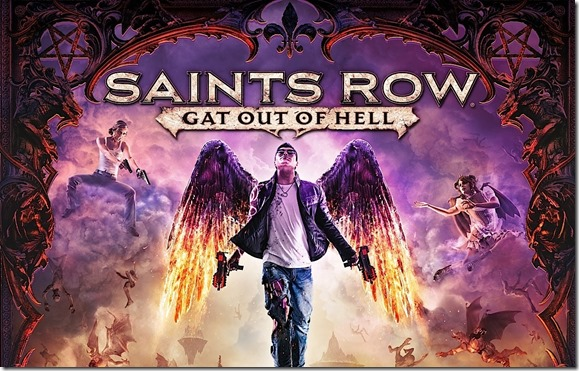 Saints Row Gat Out of Hell artwork