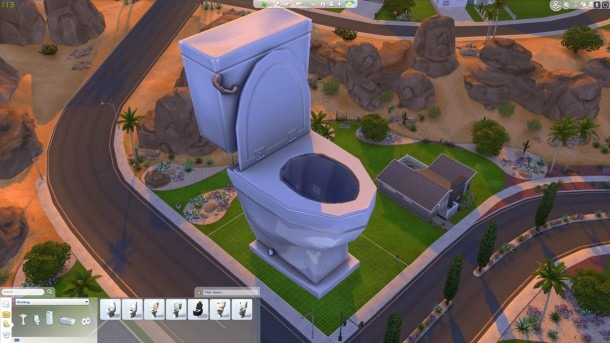 The Sims 4 Toilet Cheat. The Sims 4  See This Ridiculous Cheat Before EA Patch It