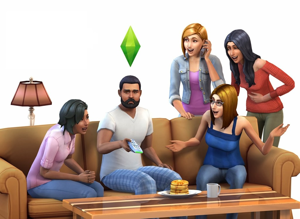 The Sims 4 screenshot breakfast