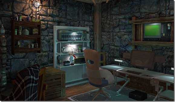 Nancy Drew The Silent Spy cabin screenshot