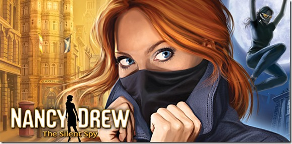 Nancy Drew The Silent Spy header