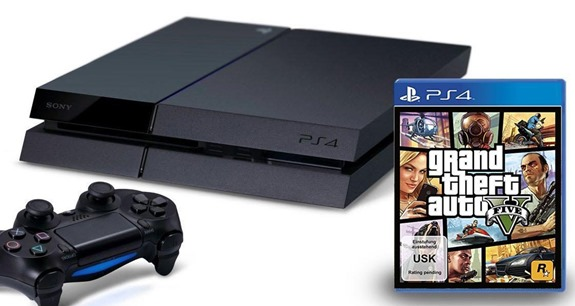 PS4 GTA V bundle