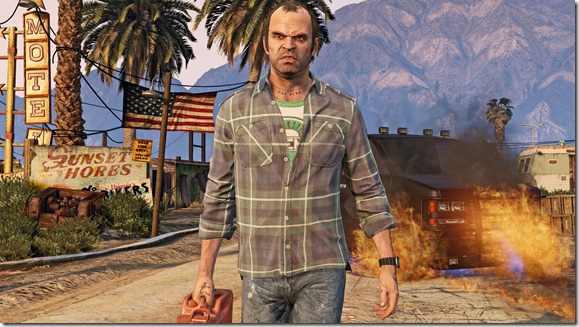 GTA V 4K Resolution Trevor