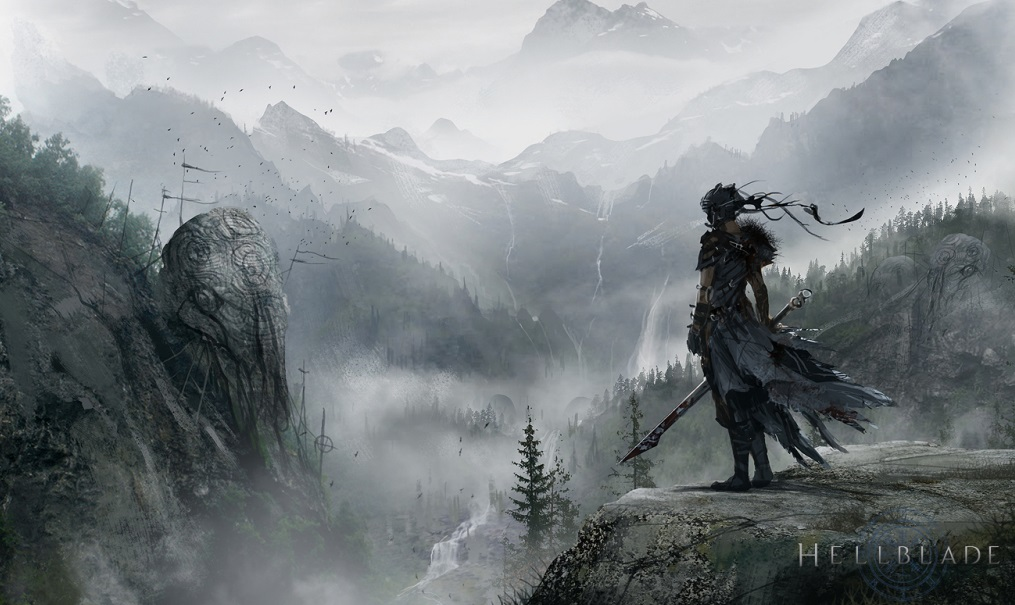 Hellblade Celtic Vista concept art