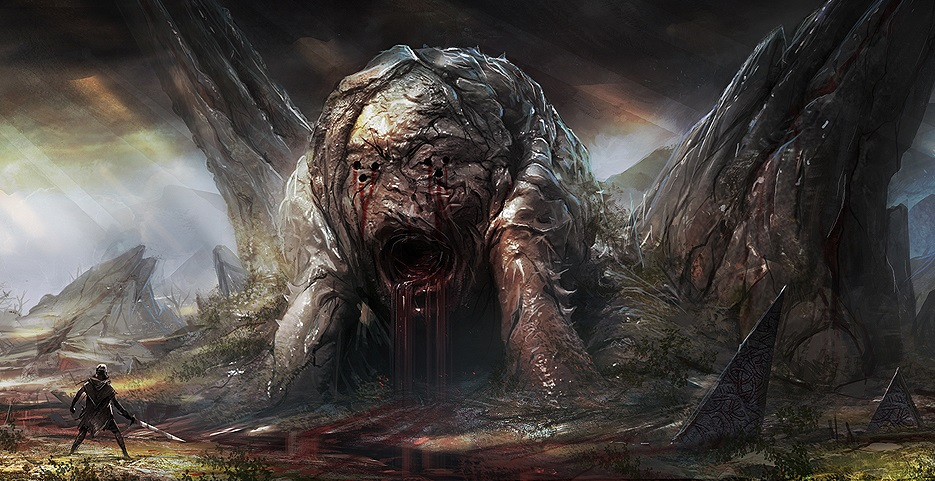 Hellblade Mouth of Hell concept art