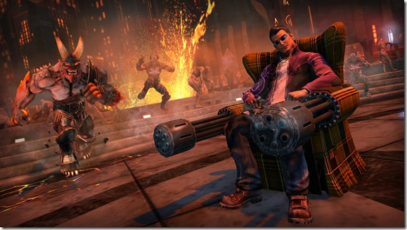 Saints Row Gat Out of Hell screenshot armchair