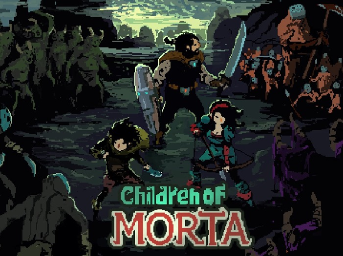 Children of Morta logo header