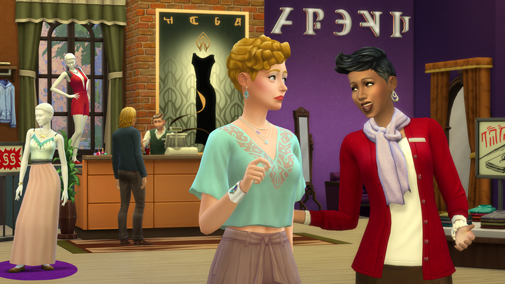 The Sims 4 expansion pack Get to Work businesses