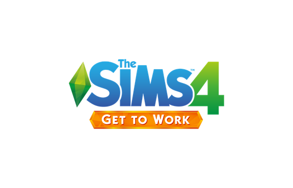 The Sims 4 expansion pack Get to Work logo