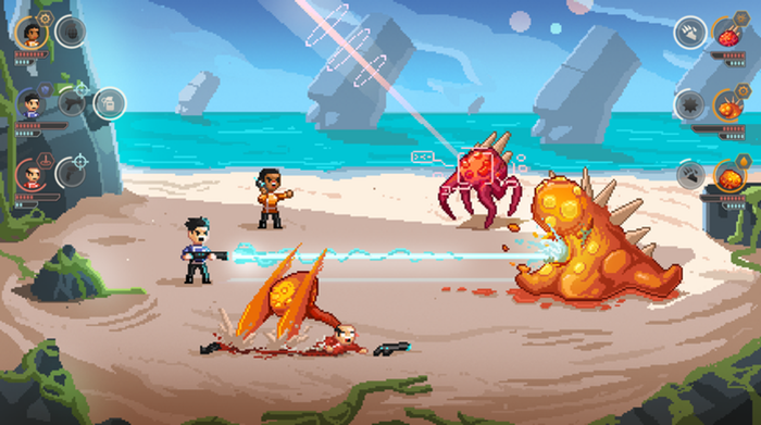 Halcyon 6 screenshot combat land