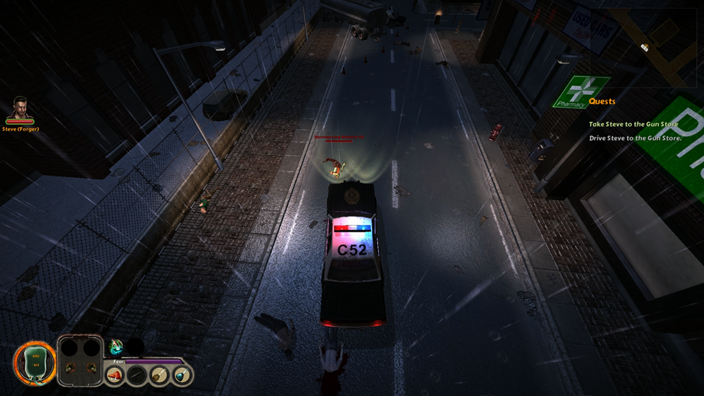 Trapped Dead: Lockdown screenshot car combat