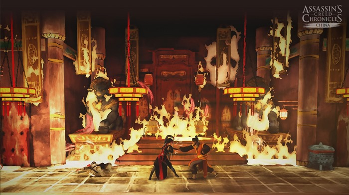 Assassin's Creed Chronicles China screenshot combat