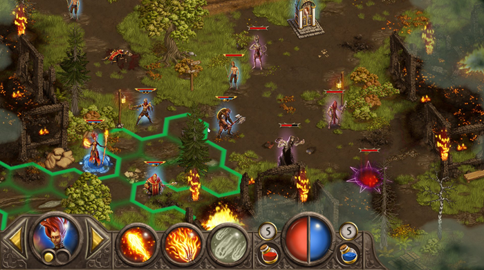 Devils & Demons screenshot forest combat