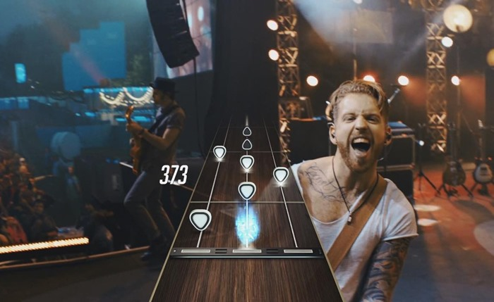Guitar Hero Live screenshot bandmates