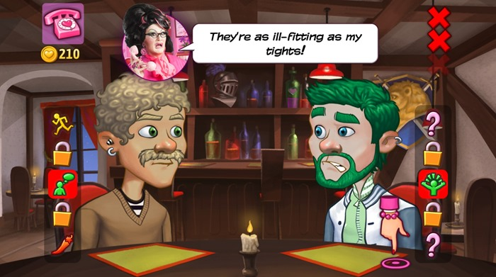 Kitty Powers Matchmaker screenshot restaurant
