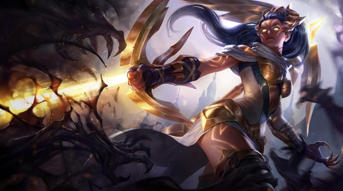 League of Legends Arclight Vayne skin