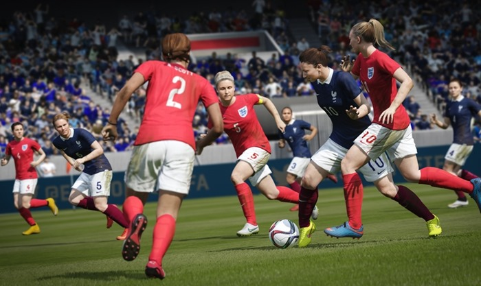 FIFA 16 women's international teams
