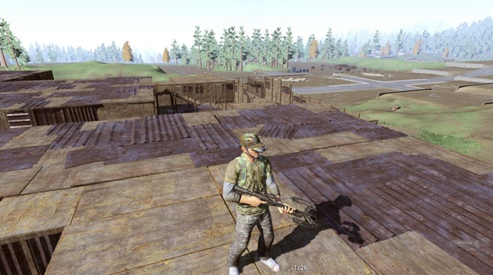H1Z1 crossbow screenshot