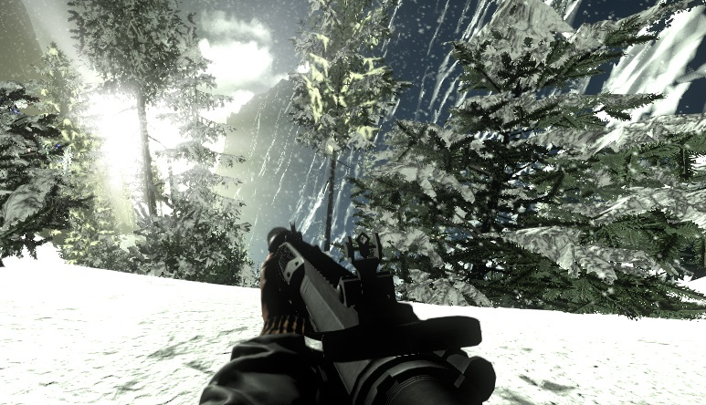 Project LIANE screenshot snow gun