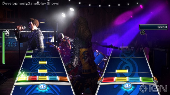 Rock Band 4 screenshot duet