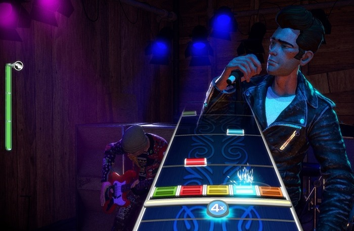 Rock Band 4 screenshot vocal