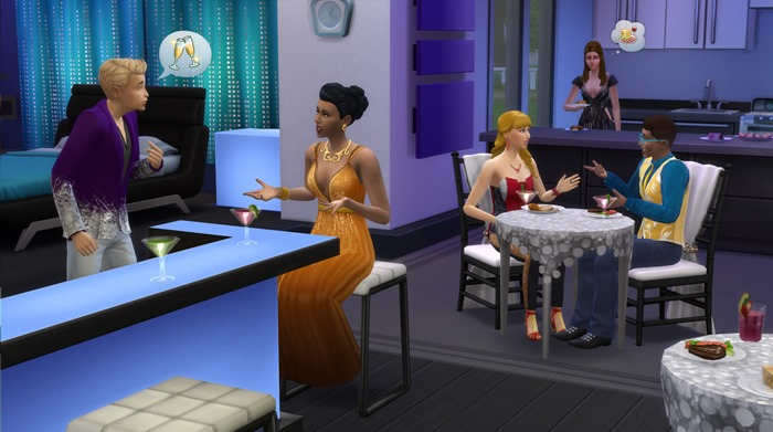 The Sims 4 Luxury Party Stuff screenshot