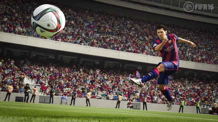 FIFA 16 screenshot Messi