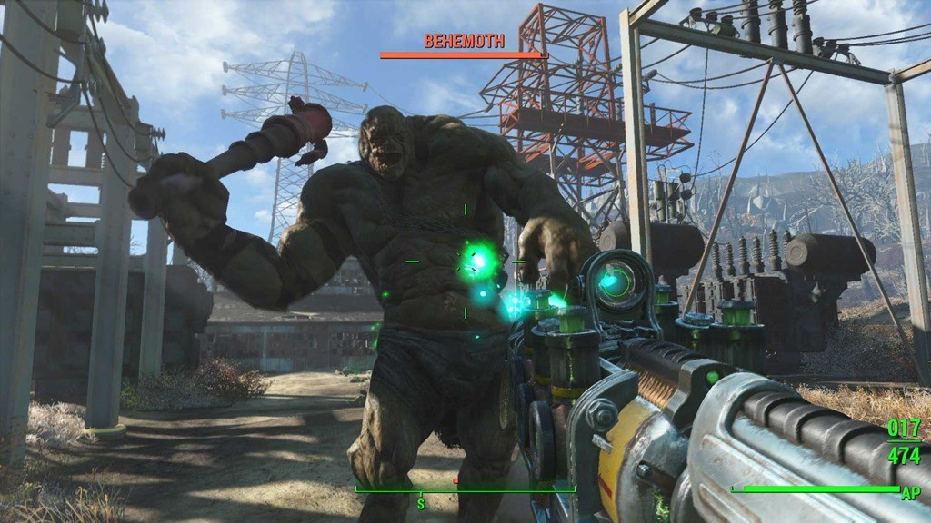 Fallout 4 screenshot combat