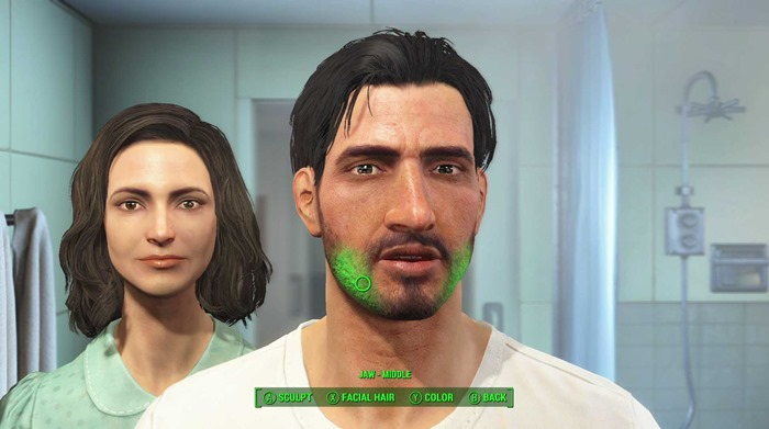 Fallout 4 screenshot create a character