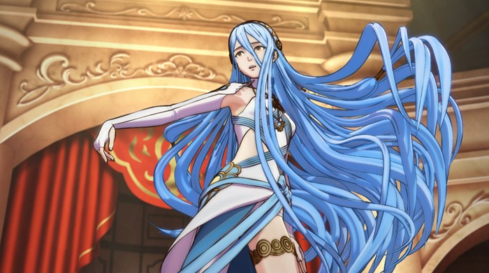 Fire Emblem Fates screenshot blue