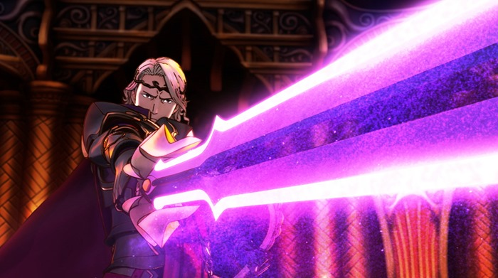 Fire Emblem Fates screenshot sword